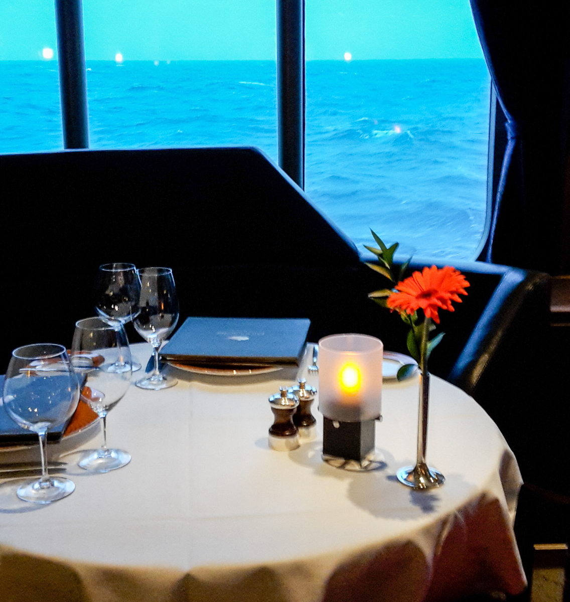 Ocean view at the Pinnacle Grill