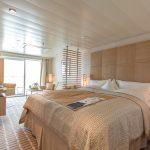 The Veranda Suite aboard the MS EUROPA 2