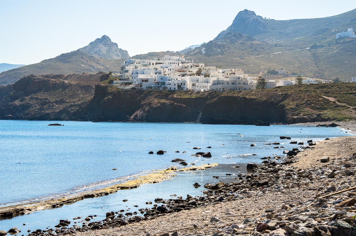Blick auf Naxos